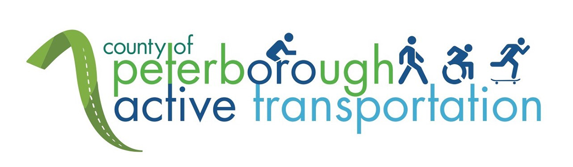 Peterborough County Active Transporation logo