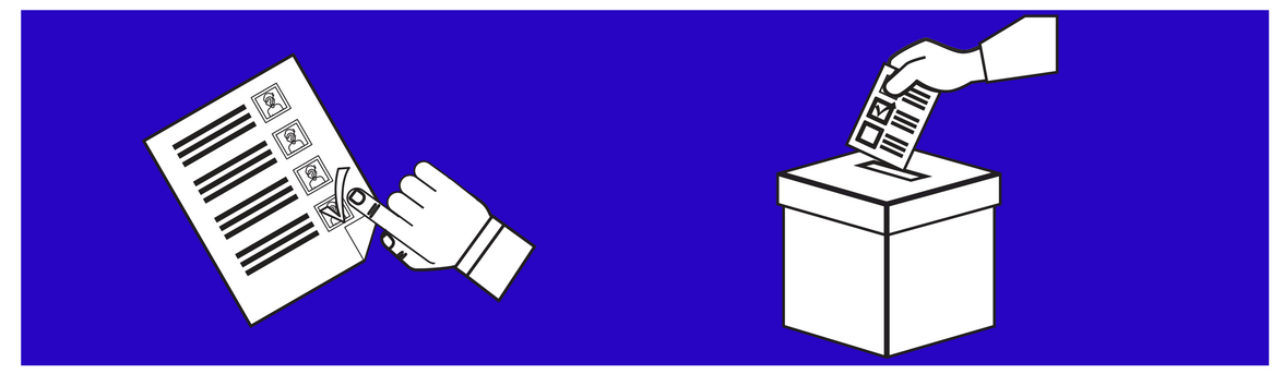Election Ballot and Box image