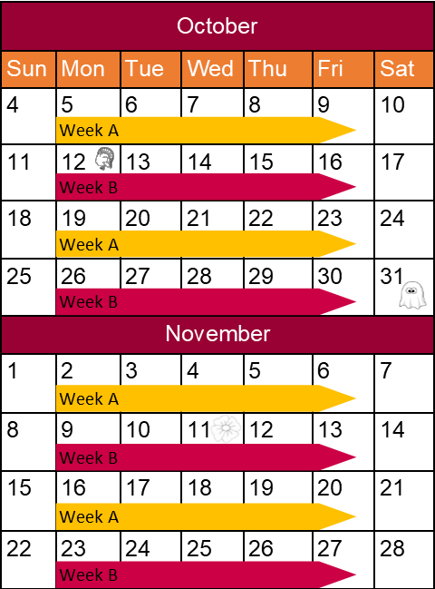 Image of Leaf and Yard Schedule